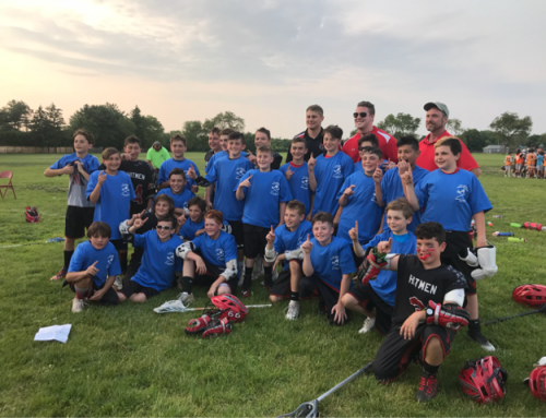 Hitmen Lacrosse 2025 Andy Forsberg Champions!